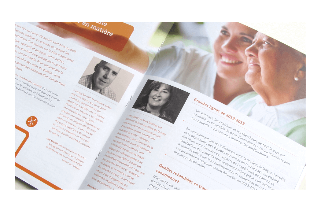 annual report experience design
