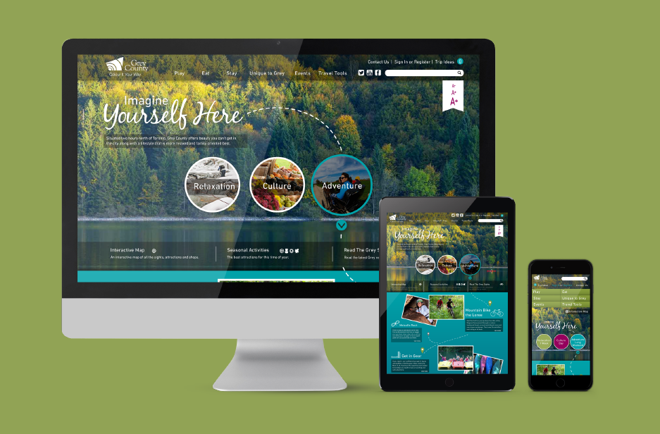 Grey County UX Web Design