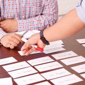 Card sorting research by Akendi